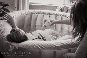 porod w wodzie